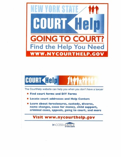 Stuyvesant Town Court Flyer